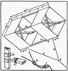 01 how to make a box kite paper build pinterest box kite