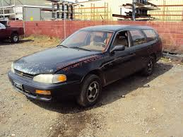 1995 toyota corolla station wagon 1995 toyota camry le model station wagon 2 2l at fwd ca emissions