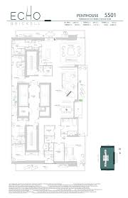 echo brickell floor plans echobrickell ph5501 jpg