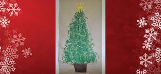 handprint christmas tree festive fun u2022 brisbane kids