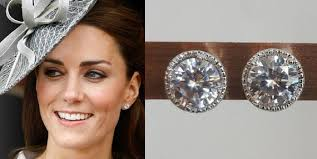 kate middleton inspired grace stud by tudorshoppe