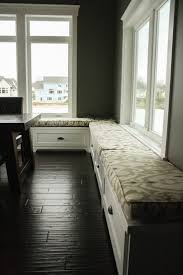 Kitchen Bench With Storage Kitchen Wonderful Banquette Upholstery Window Seat Storage Bench