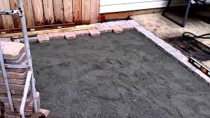 Diy Patio Pavers Installation by How To Install A Paver Patio Diy Youtube
