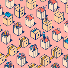 pattern animated gif quantcast animated brand gifs on behance