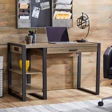 Desk With Outlets by Writing Desk With Power Outlet Wayfair