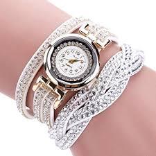 bracelet quartz images Hunputa women luxury crystal women gold bracelet jpg