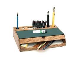 Wooden Desk Accessories Rustic Desk Accessories Rustic Desk Organizer Vintage Wood Desk