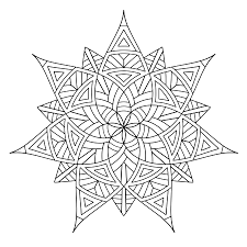beautiful geometric coloring pages for kids 13 for your coloring