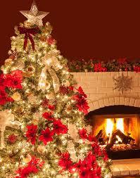 White Christmas Tree With Orange Decorations by Decorating A Christmas Tree With Ribbon