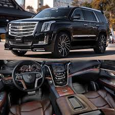 cadillac escalade 2017 blacked out cadillac escalade on 26 u201d suvs pinterest cadillac