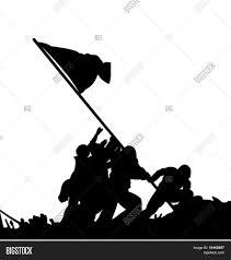 Flag Iwo Jima Flag Race Iwo Jima By Us Soldiers Vector U0026 Photo Bigstock