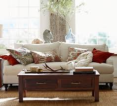 Pottery Barn Living Room Heather Chenille Jute Rug Natural Pottery Barn