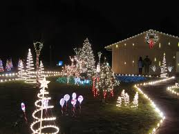 Church Lights Mainlining Christmas Photos Evergreen Community Church Light Show