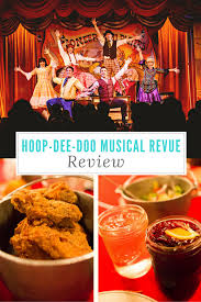 cuisine revue hoop doo musical revue review living with the magic
