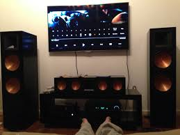 home theater blu ray receiver just placed a order on my klipsch rf 7 ii and center rc 64 ii