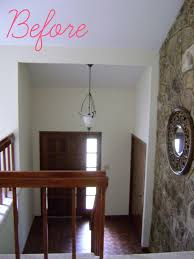 Tri Level Home Kitchen Design by Livelovediy Our 1970 U0027s House Makeover Part 6 The Hardwood Stairs