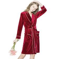 robe de chambre femme peignoir le éclat de noël pour femme peignoir robe de