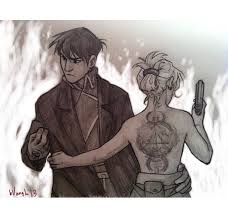does roy mustang stay blind roy mustang and riza hawkeye fullmetal alchemist