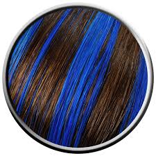 Colours For Highlighting Hair Electric Blue Hair Highlights Google Search Hair Pinterest