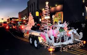 christmas light parade floats annual twinkle light parade is a festive way to kick off the