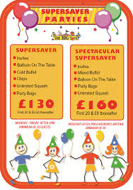 Super Buffet Hours by Super Saver Party U2013 2 Hours The Big Tops