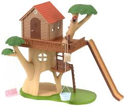 Cat Treehouse Sylvanian Families Treehouse Jac In A Box