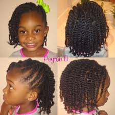 two strand twist with side flat twist natural hairstyle protective