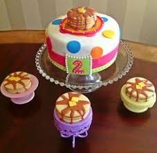 pancakes and pajamas cake celebration cakes