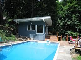 Pool Cabana Ideas by Design Kamen Tall Architects