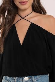the shoulder black blouse top shoulder top sleeve top black blouse 29