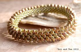 bangle bracelet beads images Dragon bangle art and tea jpg