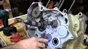 honda rancher crankshaft part 3 of 4 engine rebuild youtube