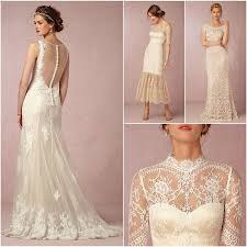 retro wedding dress vintage lace wedding dresses from bhldn modwedding