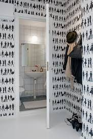 funky bathroom wallpaper ideas 356 best bathroom images on bathroom small bathrooms