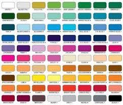 powder coating colors manufacturers suppliers u0026 wholesalers