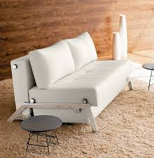 white leather pull out sofa bed centerfieldbar com