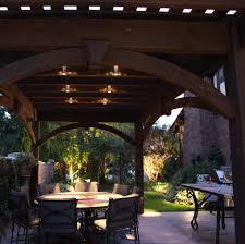 patio column lights pergola design awesome external lamps solar light ideas for