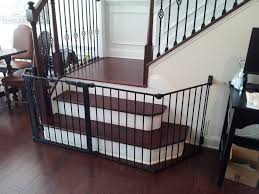 l shaped baby gate for stairs home design ideas and pictures