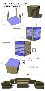 Free Diy Outdoor Furniture Plans by 337 Best Diy Outdoor Furniture Images On Pinterest Garden