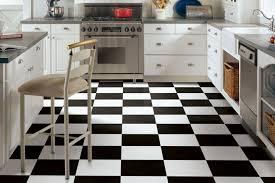 white kitchen cabinets with vinyl plank flooring black white vinyl flooring