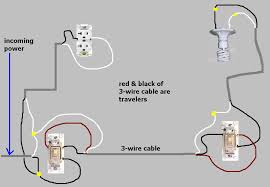 3 way switch to always receptacle wiring trouble