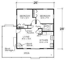 cabin style house plan 2 beds 1 00 baths 728 sq ft plan 312 721