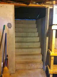 door at bottom of bulkhead stairs building u0026 construction diy