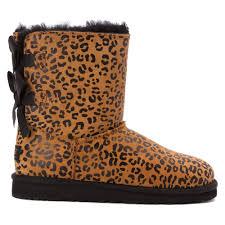 ugg s boots chestnut ugg mini ii boots ugg australia bailey bow leopard
