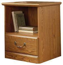 sauder orchard hills nightstand in carolina oak finish