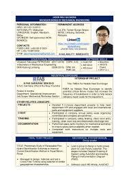 Group Leader Resume Jason Ngu Kai Sheng Resume