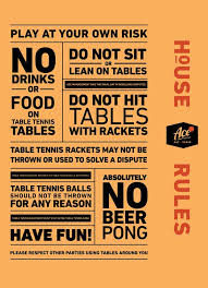 10 rules of table tennis ace eat serve ping pong