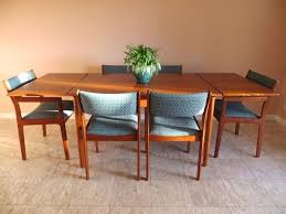 Mid Century Dining Room Furniture Tremendeous Mid Century Modern Dining Room Table And Chairs