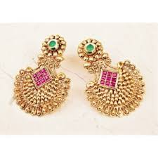 gold earrings online earrings antique gold earrings online shopping india orne