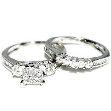 gold bridal sets rings midwestjewellery 10k white gold bridal rings set